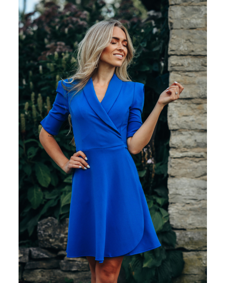BLUE MINI MOON DRESS