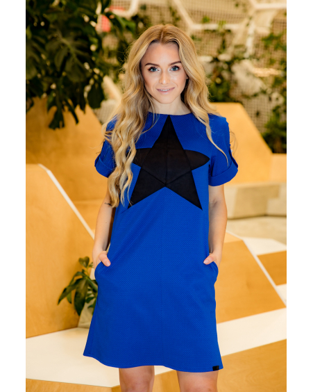 BLUE STAR DRESS