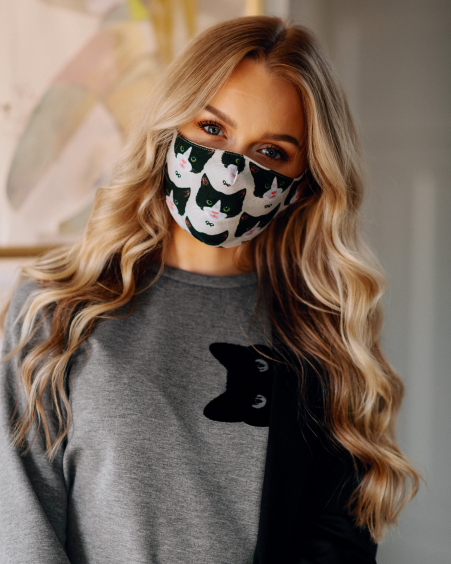 CAT MASK: CHOOSE YOUR MASK 3 PIECE IN 1 ORDER