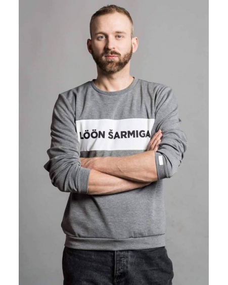 LÖÖN ŠARMIGA GREY SWEATER