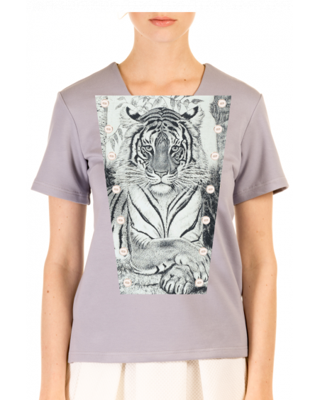 T-SHIRT GREY ARTS