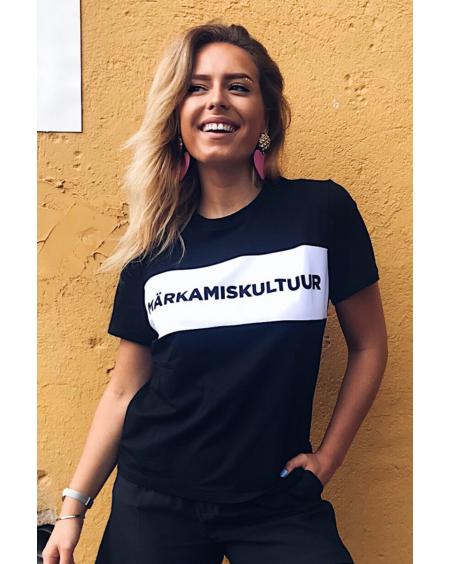 MÄRKAMISKULTUUR BLACK T-SHIRT