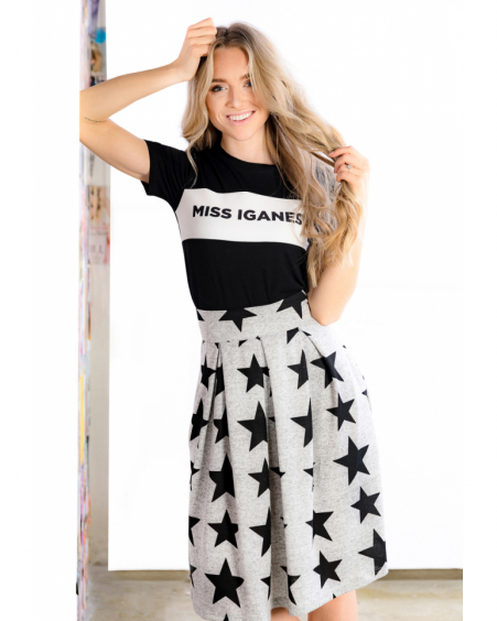 BLACK STAR PETUNIA SKIRT