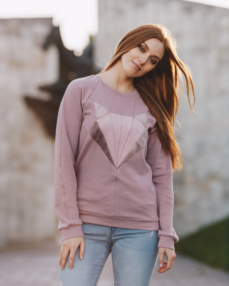LILAC FOX SWEATER