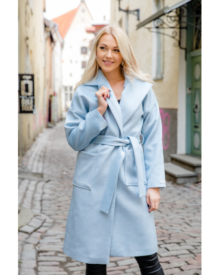 BLUE DREAMY COAT