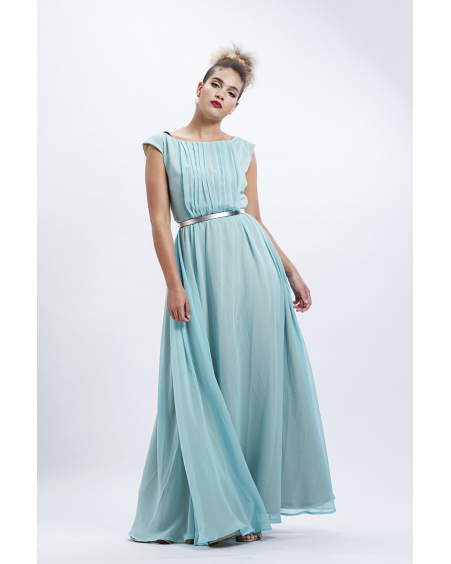 MINT RAINBOW MAXI DRESS