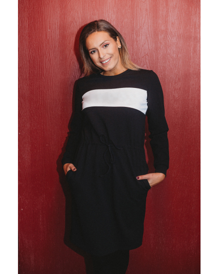 CUSTOM BLACK JUMPER DRESS