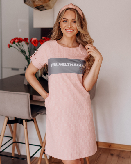 HELGELTNÄGIJA PINK PEARL DRESS