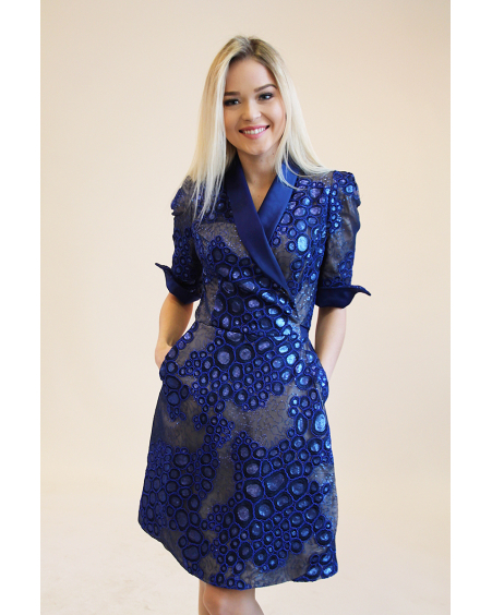 BLUE MOON LACE DRESS