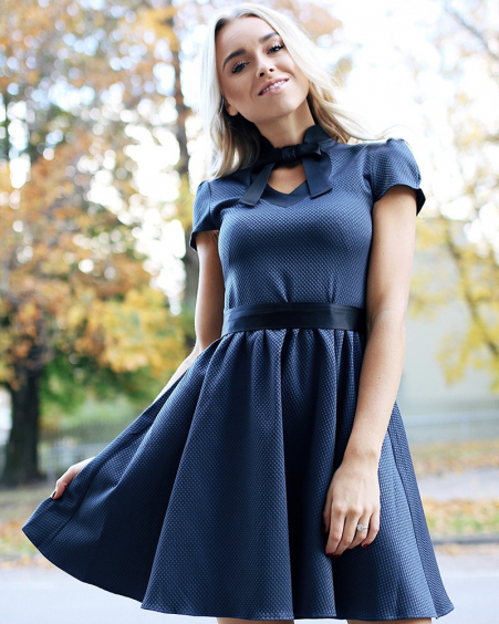Dollable dress Grey