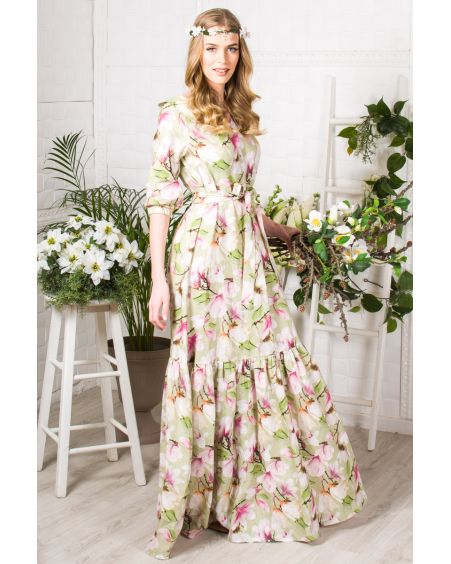 DREAM MAGNOLIA MAXI DRESS