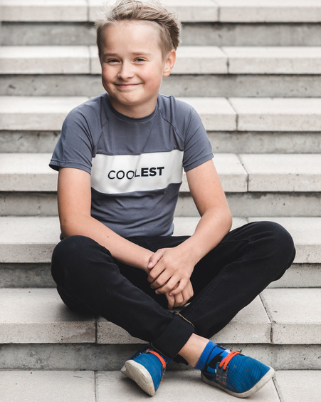 COOLEST KIDS T-SHIRT GREY