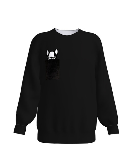 PULLDOG KIDS SWEATSHIRT BLACK