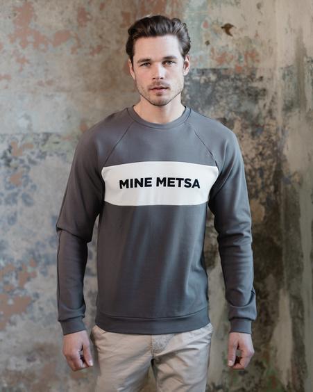 MEN MINE METSA RAGLAN SWEATSHIRT GREY