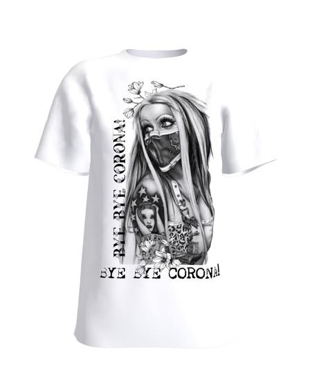 BYE CORONA! T-Shirt H UNISEX white