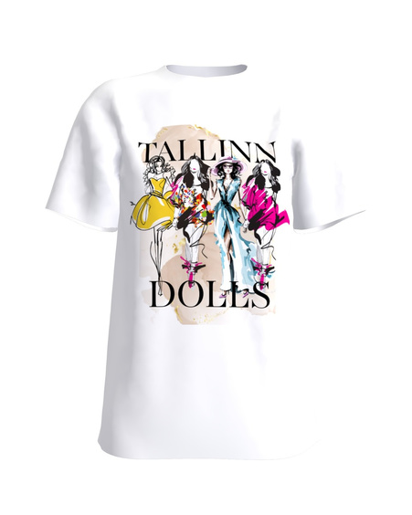 DOLLS WHITE T-SHIRT