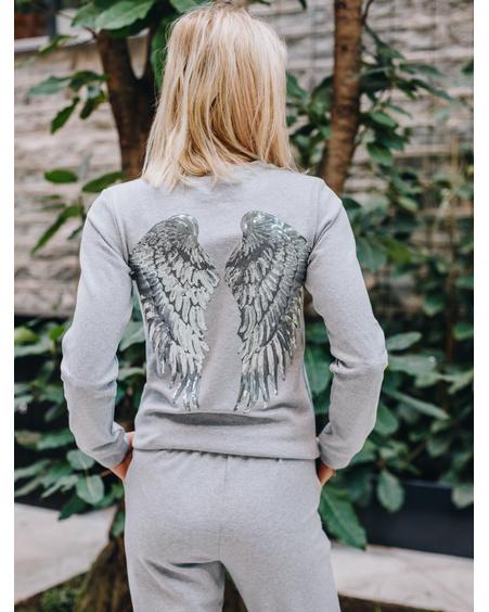 SILVER ANGEL SWEATSHIRT GREY