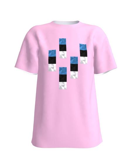 T-Shirt H UNISEX light pink
