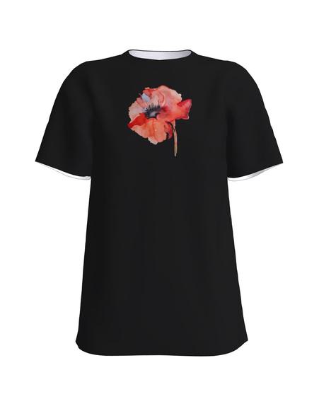 T-Shirt H UNISEX black_MOON