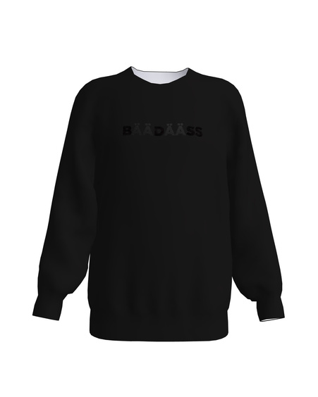 BÄÄDÄSS KIDS SWEATSHIRT BLACK