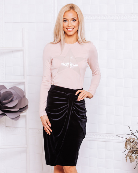 PINK STAR BLOUSE