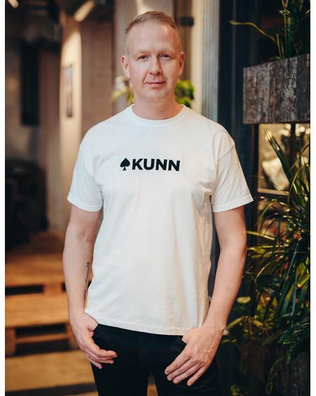 KUNN UNISEX T-SHIRT WHITE