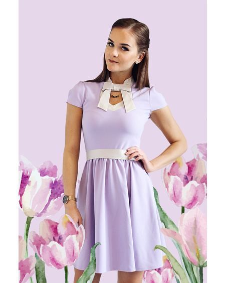 DOLLABLE DRESS LILAC