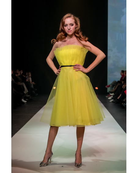 YELLOW FABULOUS DRESS