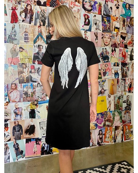 ANGEL DRESS BLACK