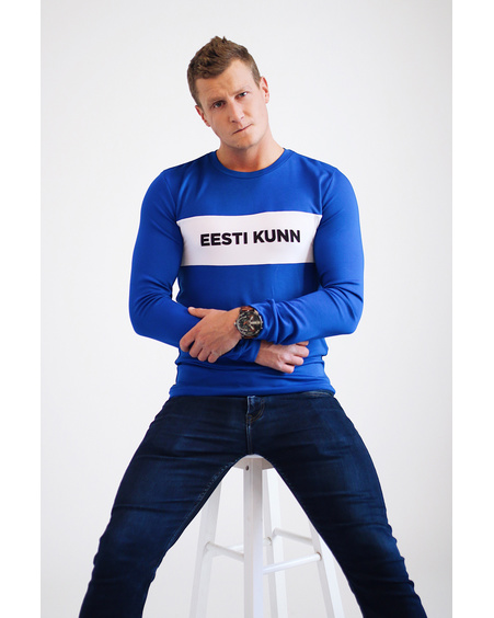 EESTI KUNN BLUE SWEATER FOR MEN