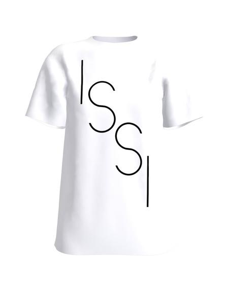 ISSI WHITE PRINT T SHIRT