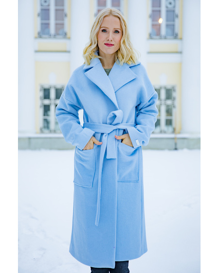 DREAMY COAT BABY BLUE