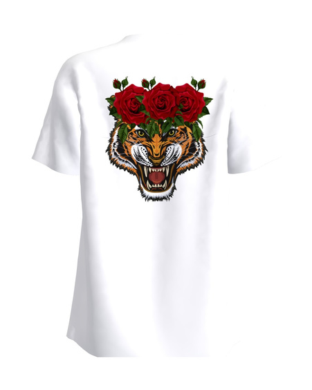 Rosy Tiger Back T-Shirt