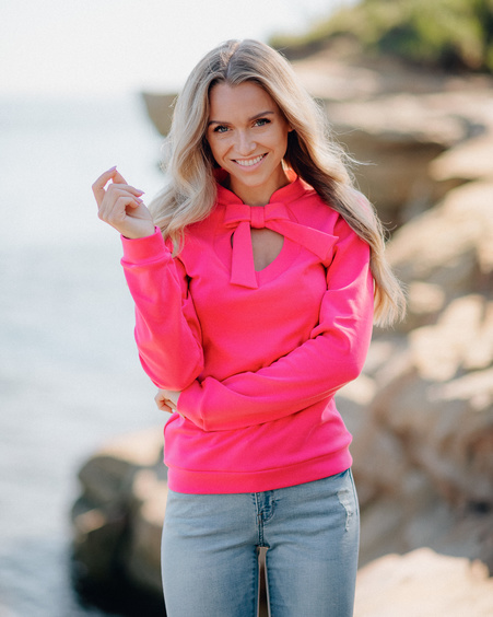 FUCHSIA DOLLABLE SWEATER