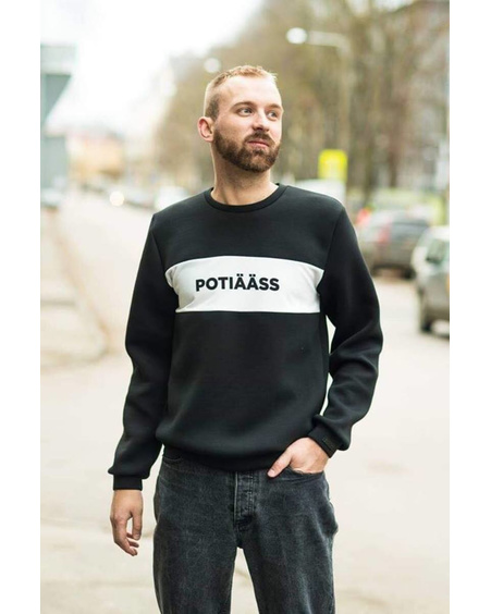 POTIÄÄSS SWEATSHIRT BLACK