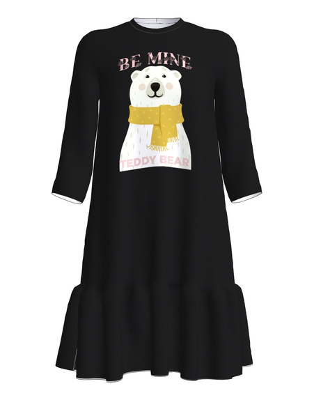Dress frill blackTEDDYBEAR