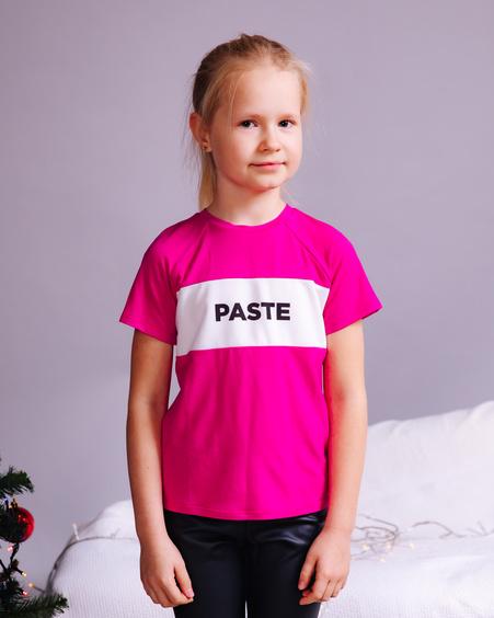 PASTE KIDS T-SHIRT FUCHSIA