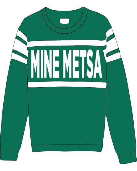 MINE METSA KNIT SWEATER  GREEN