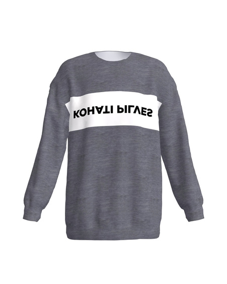 KOHATI PILVES grey sweater