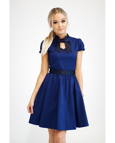 DOLLABLE DRESS NAVY