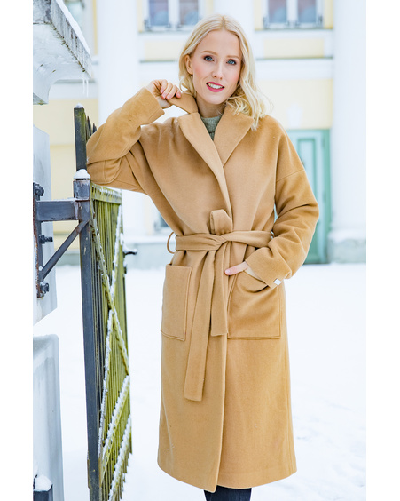 DREAMY COAT CAMEL