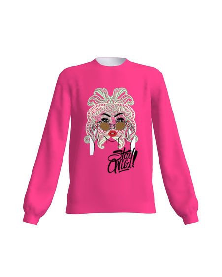 Sweatshirt Regular Pink Brushed STAY