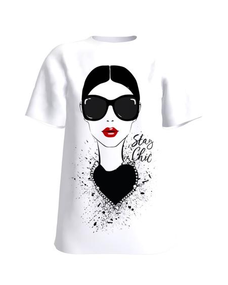 Stay Chic T-Shirt White