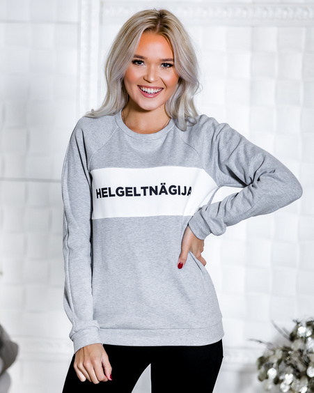HELGELTNÄGIJA GREY SWEATER