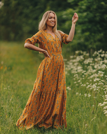MIDSUMMER COMET MAXI DRESS