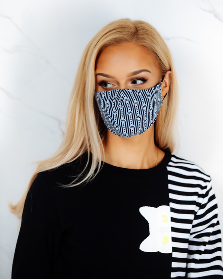 FACE MASK BOW -1 PIECE