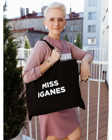 MISS IGANES TD SIGNATURE BAG BLACK
