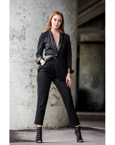 ELEGANT TROUSERS BLACK