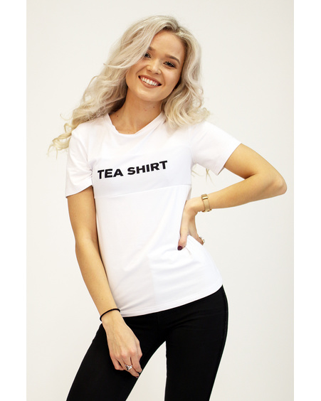 TEA SHIRT WHITE T-SHIRT