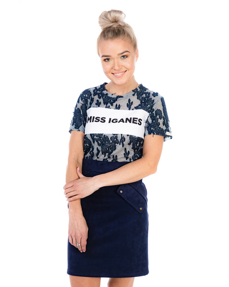 MISS IGANES BLUE T-SHIRT